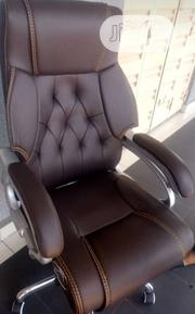 Original Pure Leather Swivel Office Chair   Furniture for sale in Lagos State, Ikeja