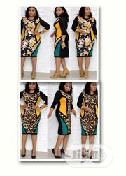 Ladies Corporate Multicolored Office Gown | Clothing for sale in Lagos State, Gbagada