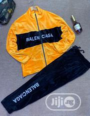 Original Balenciaga and Versace Squadron Tracksuit Available   Clothing for sale in Lagos State, Surulere