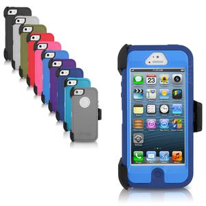 Case For iPhone 5 Otterbox iPhone 5 Defender Series Blue