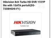 Hikvision 8ch Turbo HD DVR 1080P Lite With 1SATA Ports   Safety Equipment for sale in Lagos State, Ikeja