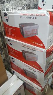 200ah/12v VIL Gell Battery | Electrical Equipments for sale in Lagos State, Ojo