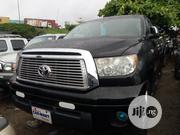 Toyota Tundra Double Cab 4x4 Limited 2010 Black | Cars for sale in Lagos State, Apapa