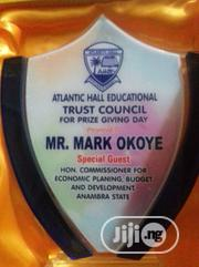 Award Plaque With Custom Print | Arts & Crafts for sale in Lagos State, Surulere
