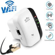 Wifi Range Extender Repeater, 300mbps Wireless Router Signal Booster | Networking Products for sale in Lagos State, Ikeja
