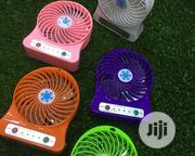 Rechargeable Mini Fan With Battery   Home Appliances for sale in Lagos State, Egbe Idimu