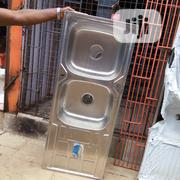 Sink Double Boo And Single Tray | Building Materials for sale in Lagos State, Orile