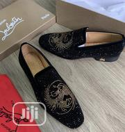 Christian Louboutin Studded Men'S Shoe Black   Shoes for sale in Lagos State, Ikeja