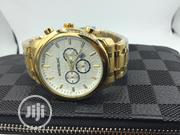 Montblanc Gold Stainless Steel Wrist Watch | Watches for sale in Lagos State, Lagos Island