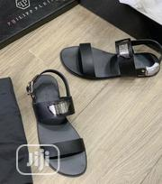 Philip Plein Leather Men'S Sandals Black | Shoes for sale in Lagos State, Ikeja