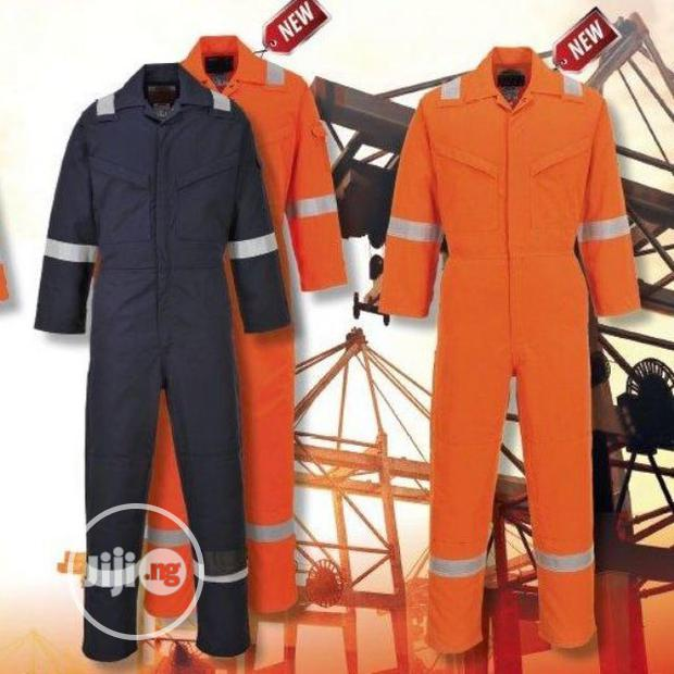 Safety Coverall With Or Without Reflective
