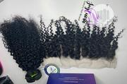 Kinky Water Curl +Frontal | Hair Beauty for sale in Plateau State, Jos