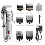 Kemei Barber Shop Rechargeable Hair Clipper Electric | Tools & Accessories for sale in Lagos State, Ikeja