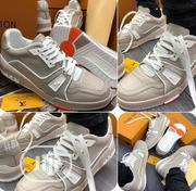 Louis Vuitton Trainer #54 Tag Low Grey-White | Sports Equipment for sale in Lagos State, Lekki Phase 1