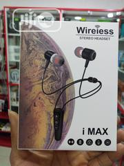 Imax Wireless(Bluetooth) Stereo Headset   Headphones for sale in Lagos State, Ikeja