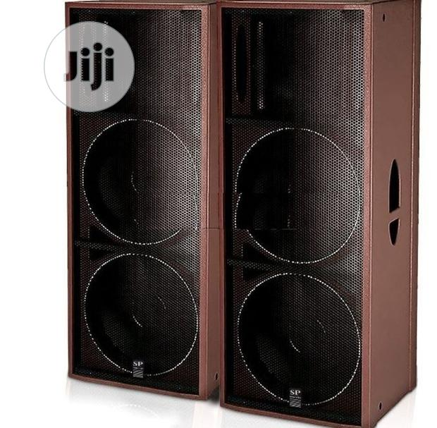 NEW Sound Prince SP 126A Double Speakers