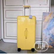 Plastic Luggage Yellow | Bags for sale in Lagos State, Lagos Island