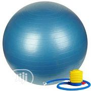 Brand New Gym Ball With the Air Pump | Sports Equipment for sale in Lagos State, Surulere