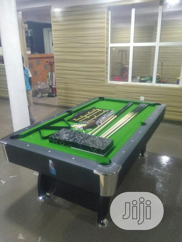 7ft Snooker Pool Table With Acessories