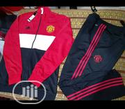 Manchester United 2019/2020 Track Suit   Clothing for sale in Lagos State, Lagos Mainland