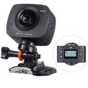 Andoer 360° Panoramic Vr Dual-Lens Full View Video Action Camera | Photo & Video Cameras for sale in Lagos State, Lagos Mainland