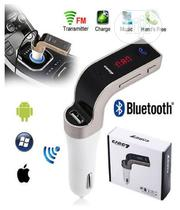 CARG7 Bluetooth Car Charger FM MP3 Transmitter USB Handsfree Aux | Vehicle Parts & Accessories for sale in Lagos State, Ikeja