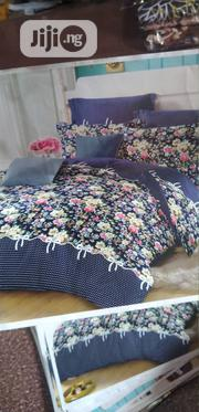 Complete 7x7 Duvet, Bedsheet With 4 Pillow Cases   Home Accessories for sale in Lagos State, Maryland