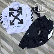 Original Off White Sweatshirt With Puma Track Available | Clothing for sale in Lagos State, Surulere