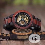 BOBO BIRD Men's Automatic Mechanical Wooden With Gift Box Packaging | Watches for sale in Lagos State, Surulere