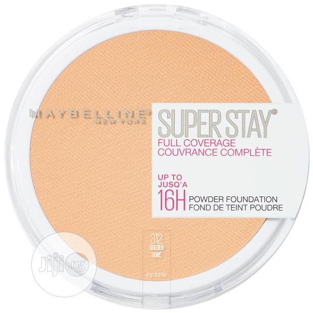 Archive: Maybelline Super Stay Full Coverage Powder Foundation