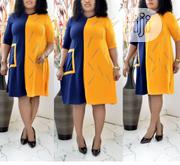Hot Ladies Multicolored Free Short Gown | Clothing for sale in Lagos State, Gbagada