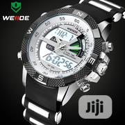 WEIDE Luxury Sports Men's Quartz Analog LED Male Military Wrist Watch | Watches for sale in Lagos State, Surulere