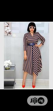 Women Formal Dress With Belt   Clothing Accessories for sale in Lagos State, Lagos Island