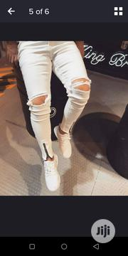 Super Skinny Ripped Jeans | Clothing for sale in Lagos State, Ikorodu