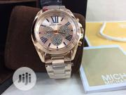 Micheal Kors Silver Engine Face. | Watches for sale in Lagos State, Lagos Island