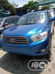 Toyota Highlander 2008 Limited 4x4 Blue   Cars for sale in Lagos State, Apapa