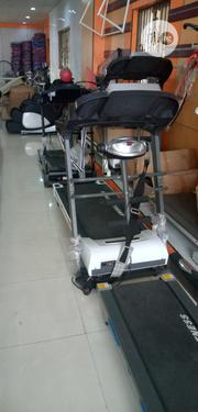 2.5HP American Fitness Treadmill With Massager,Incline,Mp3 and Sit-Up | Sports Equipment for sale in Abuja (FCT) State, Maitama