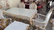 New Cristal Turkey Wooden Dining Table (With Six Chair) | Furniture for sale in Abuja (FCT) State, Central Business District