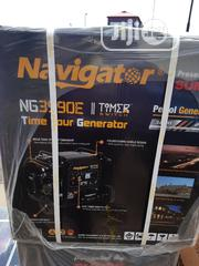 Navigator Generator Model 3990,3.5kva With Key Starter And Tyre | Electrical Equipments for sale in Lagos State, Yaba