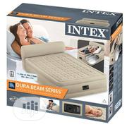 Intex Queen Size Airbed With Headrboard   Furniture for sale in Lagos State, Ikeja