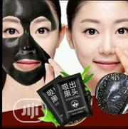 Organic Black Mask Nose Blackhead Acne Remover Peel Off Facial Masks   Makeup for sale in Lagos State, Surulere