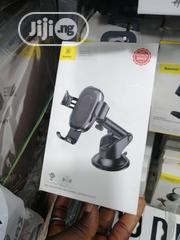 Baseus Car Wireless Charger Phone Holder | Vehicle Parts & Accessories for sale in Lagos State, Ikeja