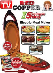 Red Copper 5 Minute Chef Electric Cooker Double-coated | Restaurant & Catering Equipment for sale in Lagos State, Lagos Island