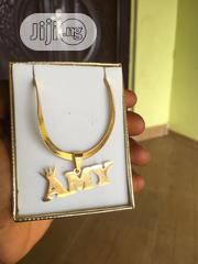 Custom Name Pendant Stainless Steel | Jewelry for sale in Lagos State, Ajah
