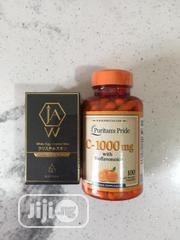 JAW Crystal White Egg With Vitamin C 1,000mg 100 Capsules   Vitamins & Supplements for sale in Lagos State, Amuwo-Odofin