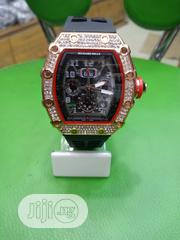 Richard Mille Mens Black Wristwatch | Watches for sale in Lagos State, Surulere