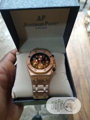 Audemars Piguet Men's Rose Gold Wristwatch | Watches for sale in Lagos State, Surulere