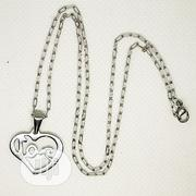 Love Cuban Chain Pendant Silver | Jewelry for sale in Lagos State, Surulere
