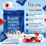 Frozen Collagen 2-In-1 Whitening X10 (60 Capsules) | Vitamins & Supplements for sale in Lagos State, Ojo