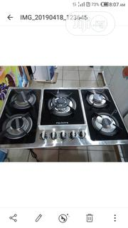 Polystar 5 Bunner Inbuilt Cabinet Gas Cooker With Low Gas Consumption   Kitchen Appliances for sale in Lagos State, Lagos Mainland